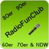 """laut.fm/radiofunclub80"" hören"
