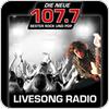 """""""DIE NEUE 107.7 LIVESONG-RADIO"""" hören"""