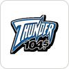 """""""WGRX - Thunder 104.5 FM"""" hören"""