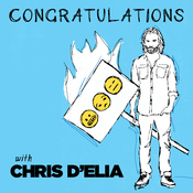 Congratulations with Chris D\'Elia