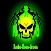Radio Neon Green